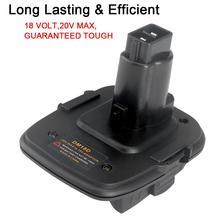 Nowy akumulator 18V DM18D konwertowany na konwerter narzędzi do ładowania litowo jonowego do akumulatorów Dewalt