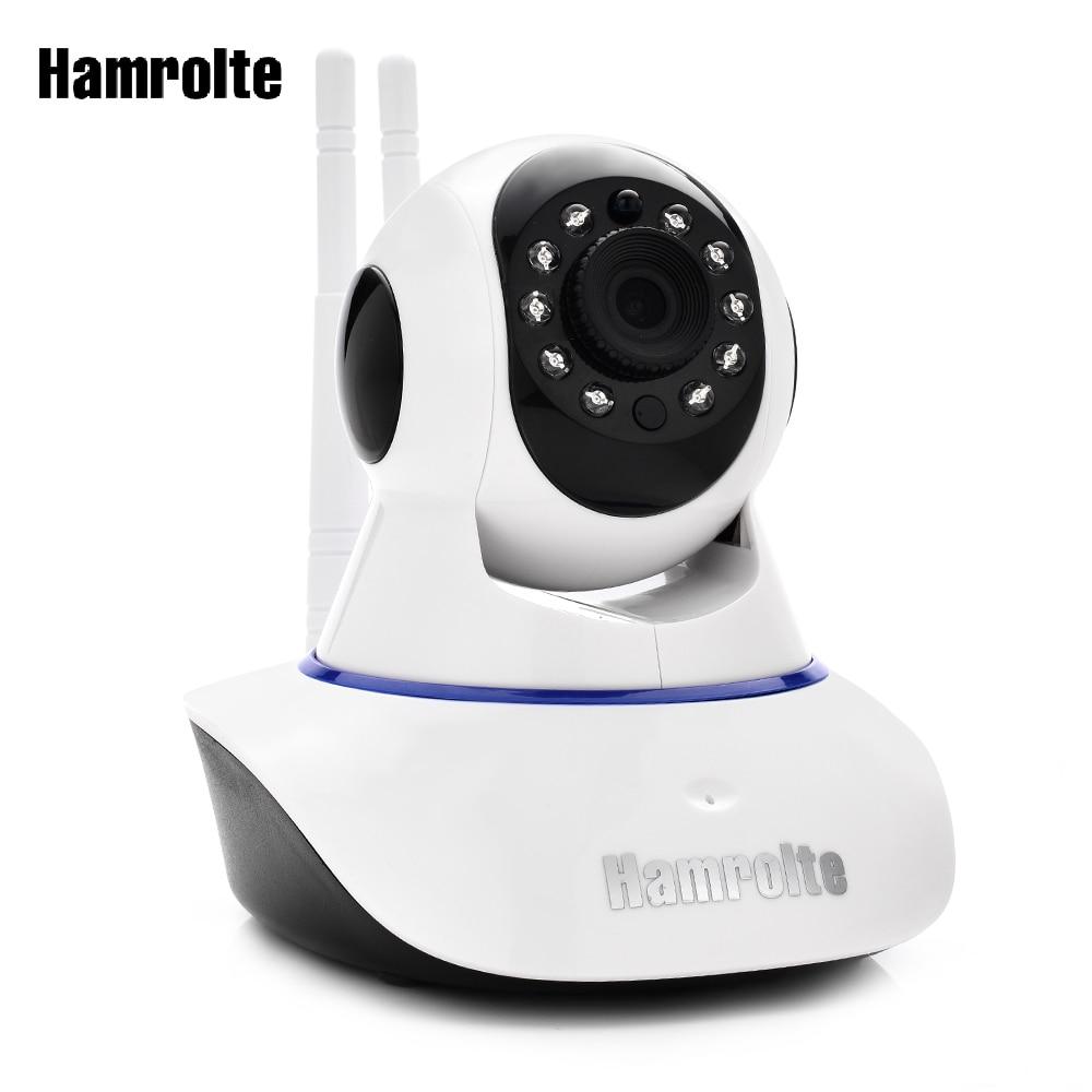 Hamrolte 720P/1080P Baby Monitor Yoosee Wifi IP Camera Two way Audio Pan/Tilt AP Connectiong P2P Nightvision Surveillance Camera