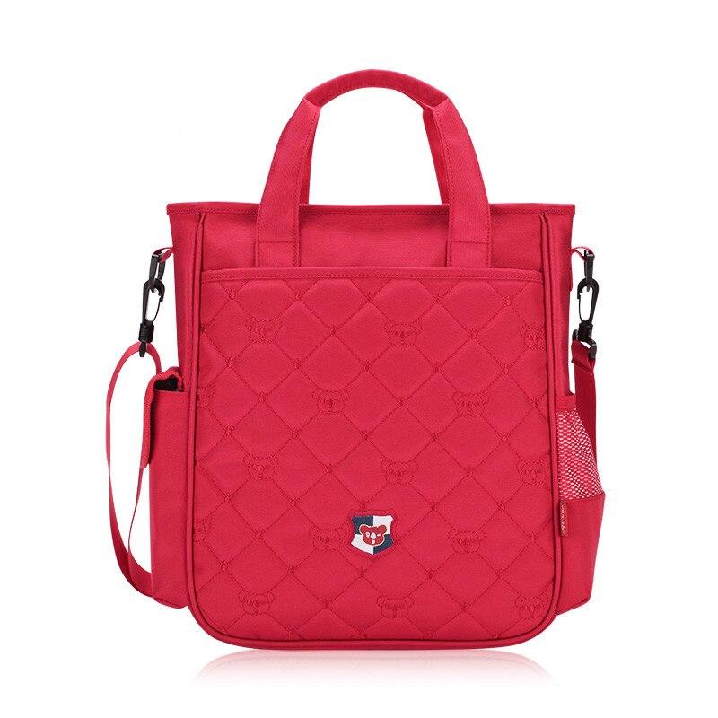В Корейском стиле одно плечо школьные сумки для девочек детей Crossbody сумка розовый рюкзак дети сумки школьные принадлежности подарок