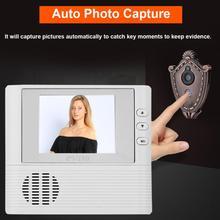 2 8 inch Lcd digital Door Camera Doorbell peephole Door viewer eye Home  Security Camera Cam door