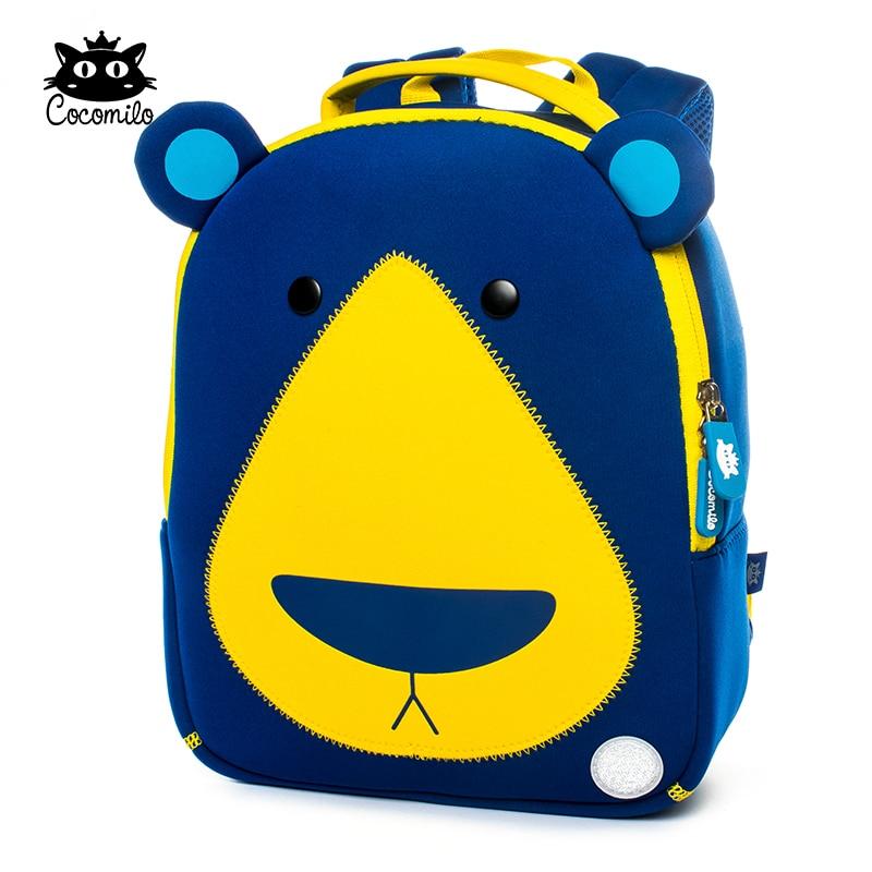 Cocomilo Cute Bear Model Animal Design Toddler School Bag For Kids Kindergarten Cartoon Backpack Preschool 2-5 Years Little Boy
