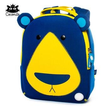 Cocomilo Sevimli Ayı Model Hayvan Tasarım Yürümeye Başlayan okul çantası Çocuklar için Anaokulu Karikatür Sırt Çantası Okul Öncesi 2-5 Yıl Küçük Çocuk