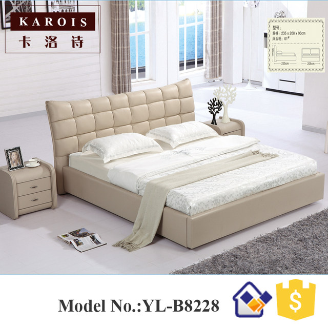 Online Shop China Made Bedroom Furniture Bed, Chiniot Furniture ...
