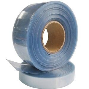 1 mètre 2 mètres 5 mètres 160mm largeur Transparent Transparent PVC thermorétractable Tube Wrap pour RC LiPO batterie thermorétractable pellicule de film Tubes