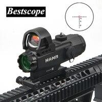 Хамр 4X24 мм винтовка Оптический прицел ночной охоты областей тактический Снайпер прицел пневматический пистолет оптический прицел