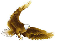Factory Directly Sale New 5D Cube Diamond Painting Cross Stitch Eagle Animal Diamond Embroidery Eagle Pictures