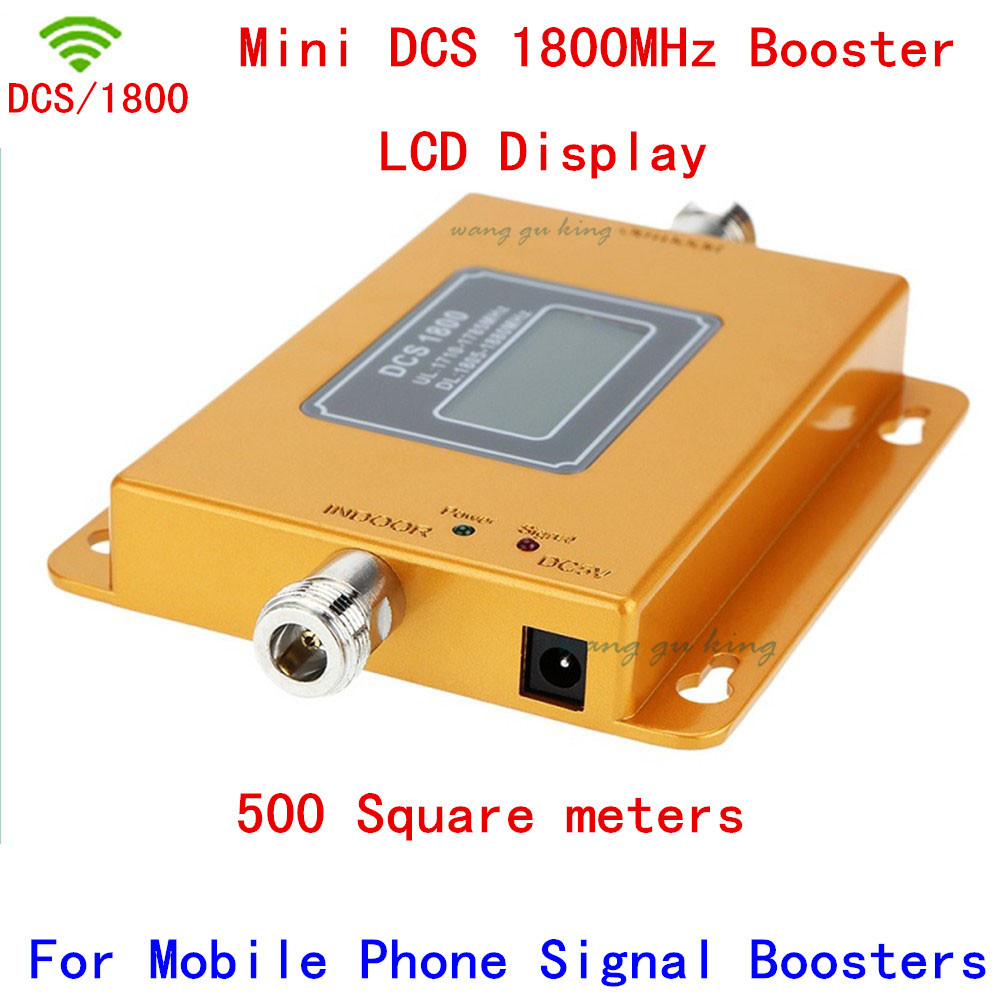 Mini 70dB LCD 2G 4G LTE GSM DCS 1800 MHz Cell Phone Mobile Phone Repeater Signal Booster / Repeater / Amplifier + Power ChargerMini 70dB LCD 2G 4G LTE GSM DCS 1800 MHz Cell Phone Mobile Phone Repeater Signal Booster / Repeater / Amplifier + Power Charger