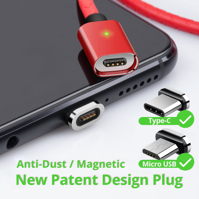 Universal Micro USB Magnetic Cable Quick Charge 3A