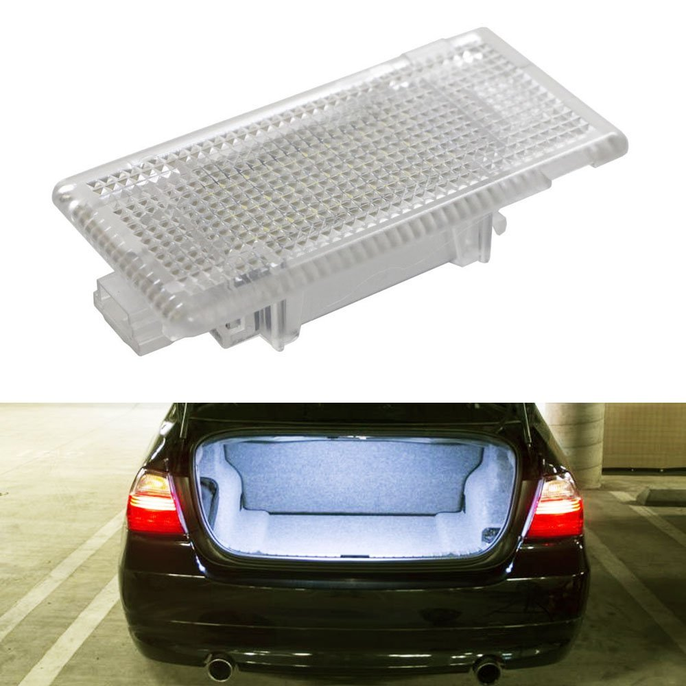 1Pcs 24SMD Led Footwell Luggage Trunk Interior Light Glove Box Lamp No Error for BMW X5 E46 E39 E84 E90 E91 E92 E53 F10 F01 F02 24 led interior light footwell luggage trunk boot glove box lamp white for bmw e90 e92 e66 e61 e39 e60 e38