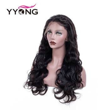 12×3 Body Wave Lace Front Human Hair Wigs For Black Women Pre Plucked Hairline With Baby Hair Brazilian Remy Hair 120% Density