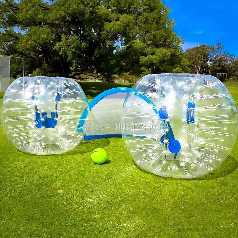 Durable 1.5 m Gonflable Football Bubble Ball Bumper Ball Corps Zorbing Bulle de Football Humaine Videur Bubbleball Zorb Balle