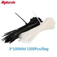 18*100 мм 1000 шт/пакет Новое поступление нейлоновые пластиковые