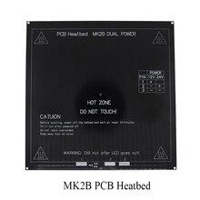 Black Color New RepRap 3D Printer PCB Heatbed MK2B Heated Bed Hot Plate For Prusa&Mendel MK2A  for 3D Printer parts