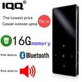 MP3 плеер Bluetooth IQQ X2, MP3 плеер новой версии с сенсорным экраном и 16 Гб встроенной памяти, портативный Hi-Fi плеер с радио, FM, записью