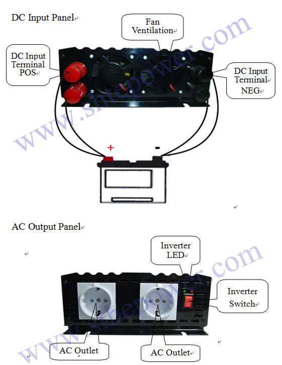 DC 12/24/48 v fuera de la red 600 w AC 110 v 110 v 120 v 230 v inversores de potencia de onda sinusoidal pura 220 v 240 v