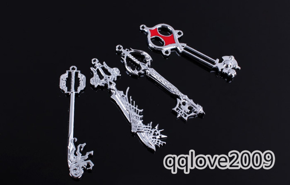 Kingdom hearts 2 ii silvery key blade sora key blade pendant kingdom hearts 2 ii silvery key blade sora key blade pendant necklace set 12pcs in pendant necklaces from jewelry accessories on aliexpress alibaba aloadofball Image collections