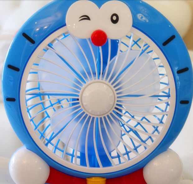 220v 20w Cute Hello Kitty Doraemon Mini Fan House And Office Desk Type  Electric Fan Student Dormitory Fan 1.2kg 23cm*24cm*12cm In Fans From Home  Appliances ...