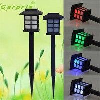 carprie Solar Lamp 2pc Wall Mount LED Light Outdoor Garden Path Landscape Lamp L70413 DROP SHIP