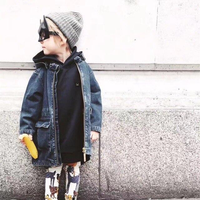 8a512f9926be Baby Boys Clothes Autumn Fashion Boys Long Denim Jacket Toddler Boys ...
