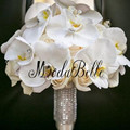 Customized Handmade Artificial Wedding Bouquets Brooch Bouquet Bridal Flowers Bouquet De Mariage Wedding Flowers Bridal Bouquets