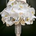 Personalizado Handmade Artificial Bouquets De Casamento Broche Buquê de Flores De Noiva Bouquet De Casamento Flores Bouquets de Noiva Mariage