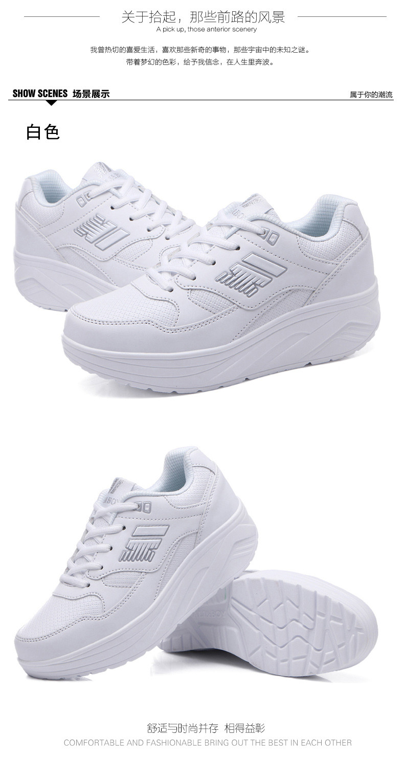 Autumn winter outdoor Girls Sneakers Platform Running Shoes for Women Sneakers Sports Shoes White Sneakers 6