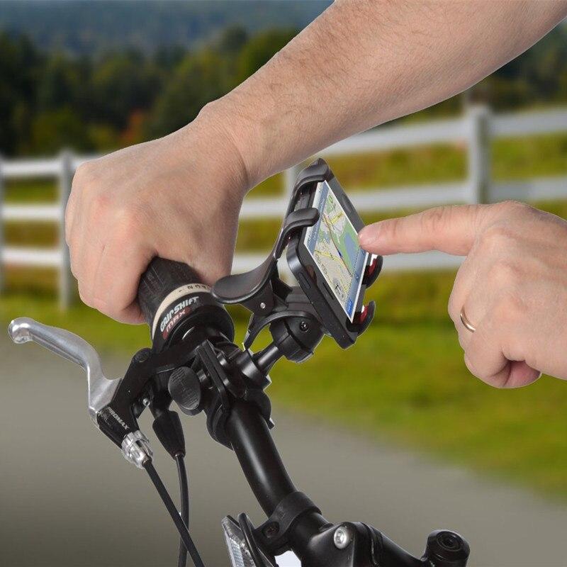 Universal de Bicicletas soporte para teléfono Bicicleta Mango Teléfono Horquilla