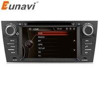 Eunavi Single 1 din Car Radio Audio DVD Player GPS For Bmw E90 E91 E92 E93 320i 325i 330i 3 Series Manual Air Condiction Version