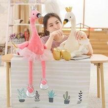Cute Swan & flamingo Plush Toys with crown, Animal Plush Toys, Children's Toys, Baby Toys, Home Decor