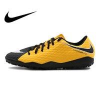 Оригинальный Официальный Nike HYPERVENOMX PHELON III TF Для Мужчин's Футбол футбольные бутсы спортивные кроссовки дышащие прочные кроссовки 852562