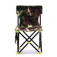 1PC 36cm * 36cm * 31cm * 59cm Outdoor Fishing Chair Camouflage Folding Chair Camping Hiking Chair Beach Picnic Rest Seat Stool(China)