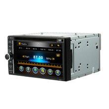 6.2″ Universal 2 Din HD Car DVD Player Stereo UI Bluetooth Radio MP3 WMA MP4 MP5 MOV Camera Input Russian English French Spanish