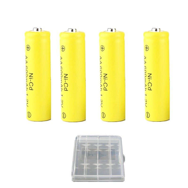 18650 <font><b>AA</b></font> <font><b>Battery</b></font> 600mah <font><b>1.2V</b></font> Li-ion Electronic Cigarette Rechargeable <font><b>Battery</b></font> image