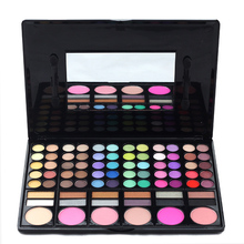78colors Makeup Colorful Nude Eyeshadow Palette Highlighting Blusher Concealer Eye Shadow Makeup Powder Palette With Mirror