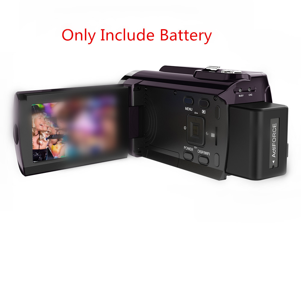 Karue NP-FV5 PLUS 2000MAH for Digital Camera HDV-666 and Other Models of Digital Camera Battery Charger and Battery