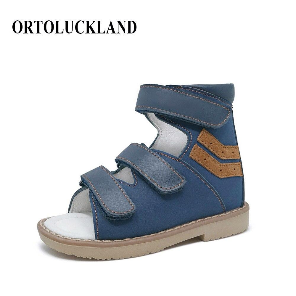 ORTHOFIT Crna Dječja kožna sandala Zatvorena peta Djeca Ortopedske - Dječja obuća - Foto 1