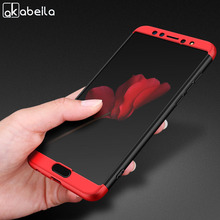 AKABEILA Case For Huawei Nova 2S 2 S Cover 360 Degree Protector Matte Back Hard Shockproof Shell
