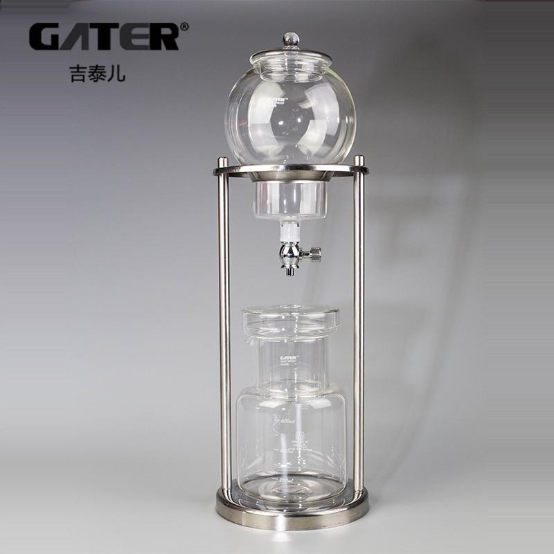 GATER 600ml 1000ml Water Infuus Koffiezetapparaat Herbruikbare Glas Filter Gereedschap Espresso Koffie Druppelaar Pot Ijs Koude Brouwsel koffie Machine-in Koffiepotten van Huis & Tuin op  Groep 1