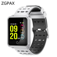 IP68 Waterproof Smart Watch D88 PK Huami Amazfit Bip Smart Watch Heart Rate Call Reminder 25