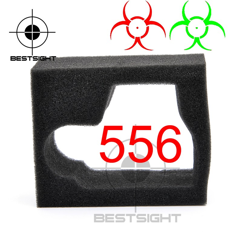 556 Resident Evil Holographic Reflecting Series Green Red Dot Sight Airsoft Scope Fits 20mm Rail Mounts optical lens 556 black side holographic red