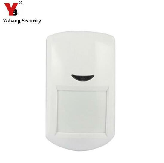 Yobang Security 433Mhz Wireless PIR Motion Sensor Detector for Home Security Alarm Motion Detector PIR Detector for Home Alarm yobang security 433mhz anti pet 25kg waterproof wireless solar outdoor pir motion sensor detector for home security alarm system