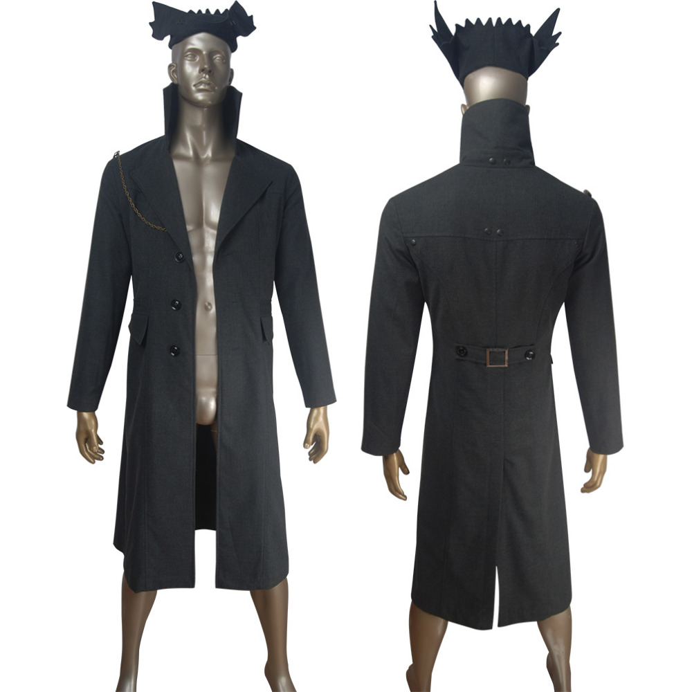 Bloodborne the Hunter cosplay Halloween make-up costume game comic-con suit outfit X'mas birthday gift toys essential