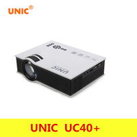 Professional UNIC UC40 Projector Mini Portable 3D HDMI Home Theater Beamer Multimedia Projector Full HD 1080P