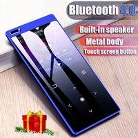 HIFI C12 MP4 Player With Bluetooth Student Walkman Mini Touch Mp4 ultra thin Mp4 Speaker Supports lyrics E book lossless Music