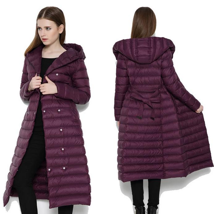 Warm Parka New Winter High Quality jacket Coat Women Long down jacket Plus Size