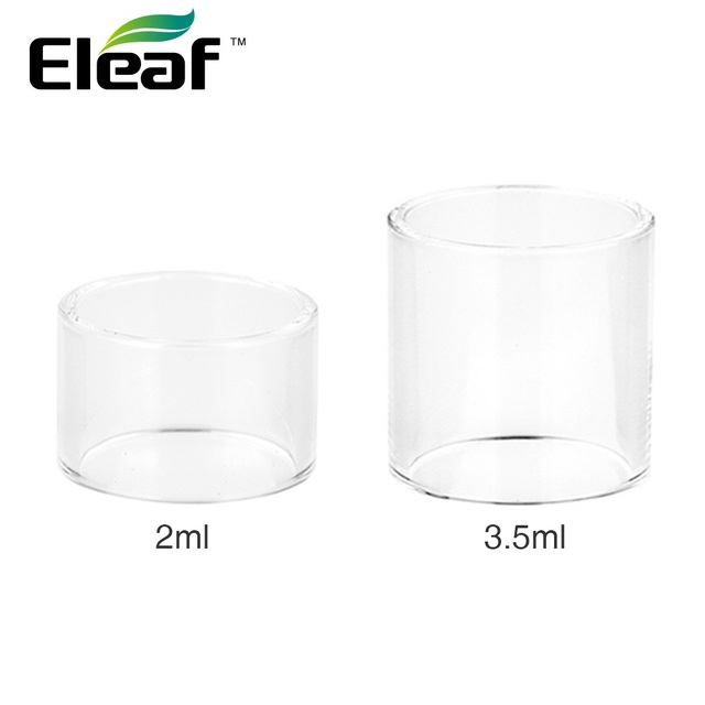 US $5 15 10% OFF|Original Eleaf iJust NexGen Glass Tube for 2ml/3 5ml Tank  Capacity Easy to Replace and Clean for Eleaf iJust NexGen Kit Vape-in