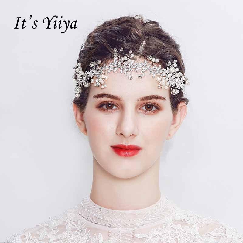 Genial Es Der Yiiya Neue Perle Party Stirnband Hochzeit Zubehör Braut Der Glanz Jewelryl Headwear Pj046 Ein GefüHl Der Leichtigkeit Und Energie Erzeugen Hochzeit Zubehör