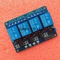 1 pçs/lote 4 canal módulo de relé 4-channel relé da placa de controle com optoacoplador. Saída de relé módulo de relé de 4 vias para arduino
