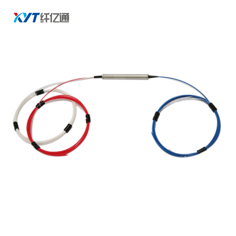 Free Shipping Fiber Optic Equipment 1525-1565nm(C+L Band) 3 Port Fiber Optic Circulator With FC PC Connector