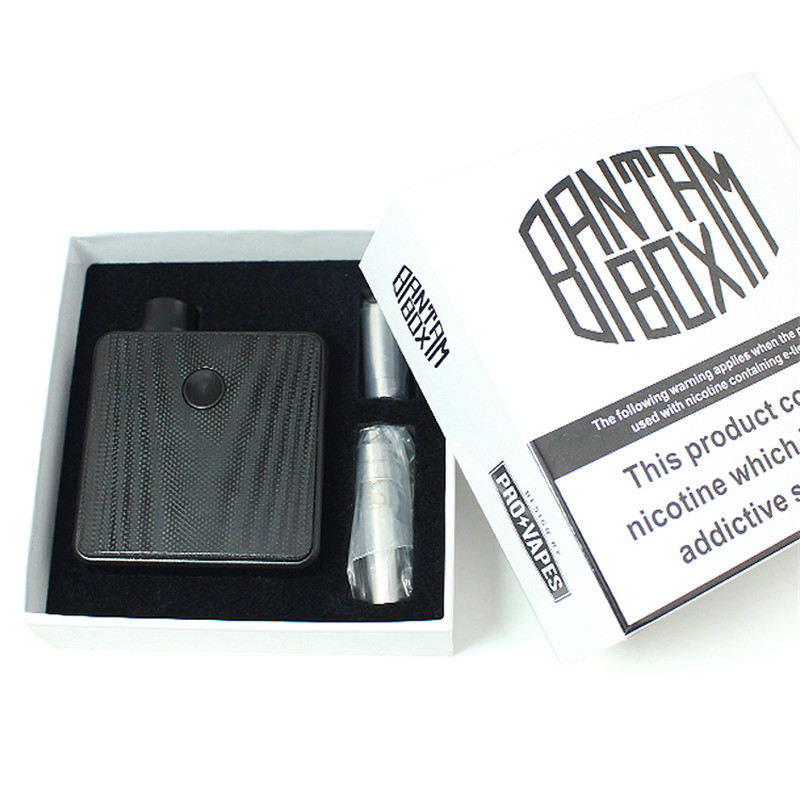 Originall SXK Bantam коробка мод 30 Вт 5 мл Танк Коробка мод мини Ремонтопригодный распылитель BB мини вейпер комплект с USB портом электронная сигарета - 5